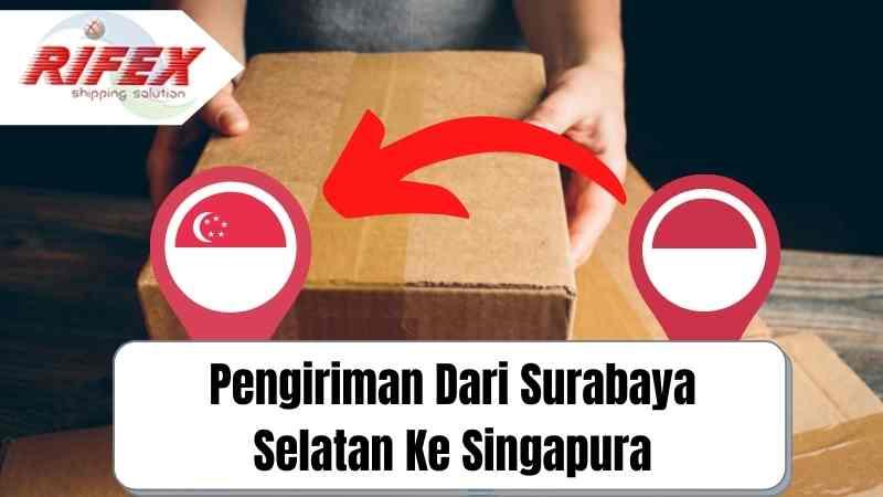 Pengiriman Dari Surabaya Selatan Ke Singapura